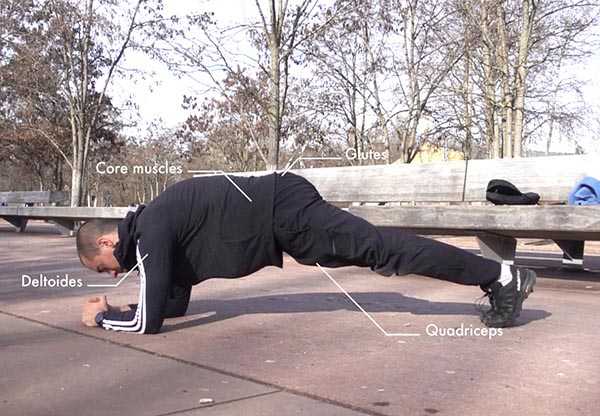 How To Do The Front Plank Properly